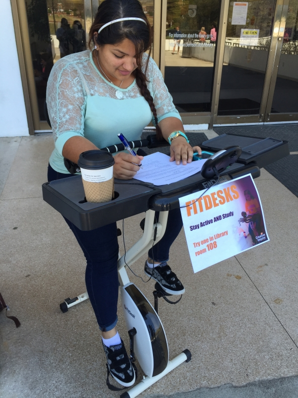 University Libraries Add Study Bikes